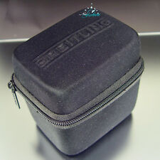 BREITLING BLACK SERVICE ZIPPED CARRYING STORAGE TRAVEL CASE BLACK