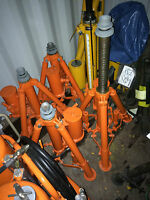 Aircraft helicopter multi stage jack swl 3 6 12 ton  ground equipment hydraulic