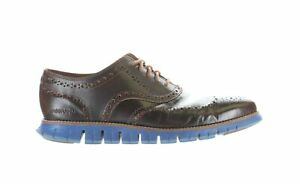 Cole Haan Mens Zerogrand Wing Brown Wing Tips Size 11 (Wide) (1894917)