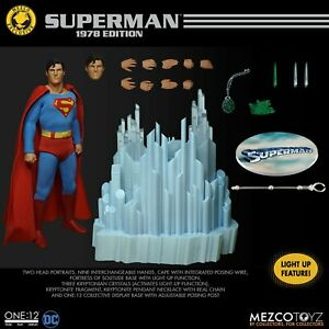 Mezco Superman 1978 Edition Christopher Reeve ONE:12 COLLECTIVE SHIPPING SOON!