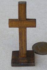 1:12 Scale Wooden Altar Cross Tumdee Dolls House Miniature Church Accessory