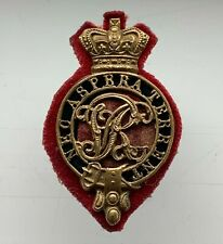 More details for victorian royal military college sandhurst gentleman cadet's cap badge