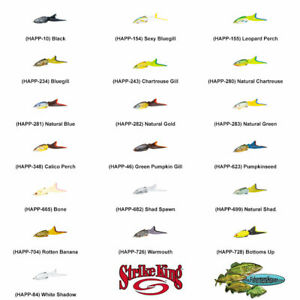 Strike King Topwater HAPP Hack Attack Pad Perch Any 19 Color Hollow Body Lures