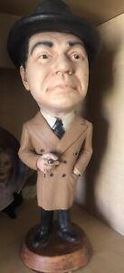 Esco Statue Chalkware Edward G Robinson, Scarce! Vintage 1979-80