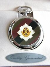 THE ROYAL SCOTS BADGE POCKET WATCH FREE KEYRING ARMY MILITARY GIFT BOXED