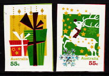 2012 Christmas - Embossed Booklet Stamps