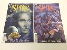 Spike #1-2 (Dark Horse/Whedon/Buffy Verse/Season 9/0715347) Complete Set Of 2