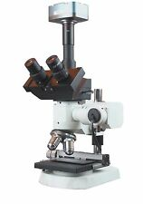 1200x Trinocular Metallurgy Microscope w XY Stage 5Mp Camera Measuring Software