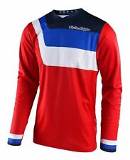 Troy Lee Designs GP Prisma Youth MX Offroad Jersey Red M (md)(medium)