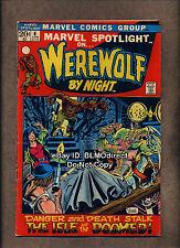1972 Marvel Spotlight #4 VG 1st App Buck Cowan 3rd Werewolf By Night Marvel