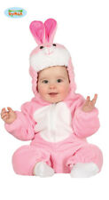 Baby Easter Pink Bunny Fancy Dress Costume ~ 6-12 Months