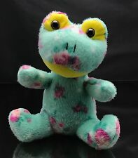 "Toymax Frog Plush 8"" Stuffed Animal Unique Light Green With Spots Spots"