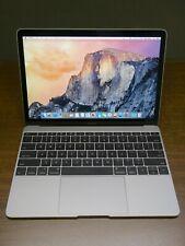 "MacBook Retina Core M 1.1GHz 8GB 256GB SSD 12"" Space Gray 2015"