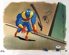 ERIK LARSEN Signed 11x14 Original Art Cel Spider-Man Savage Dragon w/ PSA/DNA