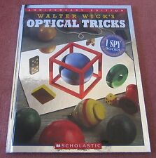 Optical tricks Walter Wick co-creator of I spy books, hardcover