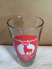 New Glarus Brewing Co Pint Beer Glass, Staghorn October fest Beer 1995