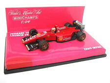 FERRARI F1 F310 EDDIE IRVINE LAUNCH VERSION 1996 MINICHAMPS PMA 640960092 1/64