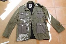 JUNKER DESIGNS GREEN MILITARY COAT JACKET XXL 2XL MOTLEY CRUE NIKKI SIXX 3XL $2K