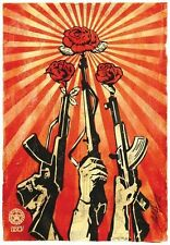 Shepard Fairey GUNS AND ROSES 2006 OBEY GIANT
