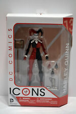 """HARLEY QUINN DC Comics Icons DC Collectibles 6"""" Action Figure - OPEN BOX"""
