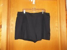 f3c5e745c2 Lands' End Women's Size 18W 1X Black Swim Shorts Solid Modest NEW