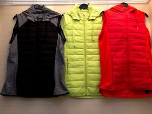 NEW Ladies M&S Sports Gilet Active Bodywarmer Lightweight Quilted Running 6-20