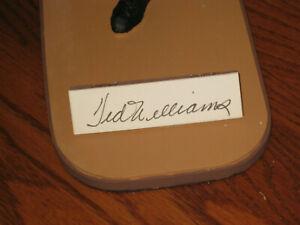 "Ted Williams ""The Kid"" #9 BATTING AUTOGRAPHED Gartlin USA 9 1/2"" FIGURINE - COA"