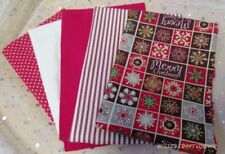 Telas y tejidos color principal multicolor de navidad de 100% algodón para costura y mercería