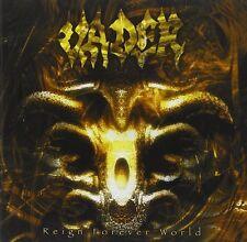 VADER - Reign Forever World LP - Blue Vinyl - Death Metal - SEALED new copy