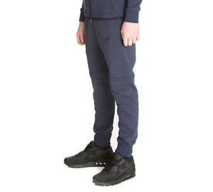 Junior Nike Sportswear Tech Fleece Navy Jog Pant (NAEX2) RRP £49.99