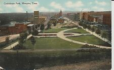 Early 1900's The Confederate Park in Memphis, TN Tennessee PC
