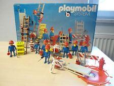 """Playmobil Klicky Super Set 3403 """"Feuerwehr""""  gebraucht"""