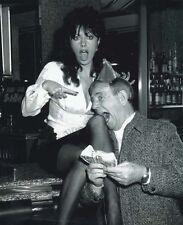 Vicki Michelle and Norman Wisdom UNSIGNED photo - 1285 - 'Allo 'Allo