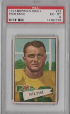 1952 Bowman Small #33 Fred Cone PSA 6
