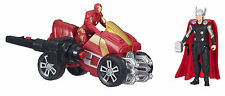 MARVEL AVENGERS AGE OF ULTRON THOR AND IRON MAN 2.5-INCH FIGURES WITH ARC ATV