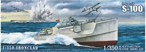 AOSHIMA 05658 LIMITED EDITION VERSION WWII GERMAN S-BOAT E-BOAT 1/350th KIT