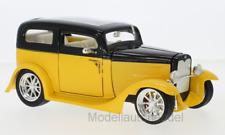FORD MODEL A CUSTOM 1931 GIALLO - 1:18 Lucky DIE CAST * NEW *