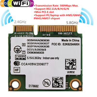 300Mbps 2.4G + 5G Dual Band Wireless Network Card Mini PCI-E For Toshiba ASUS JS