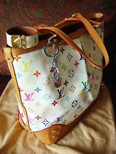 """Louis Vuitton Multicolore Sharleen MM  """" price negotiable w/ extras """""""
