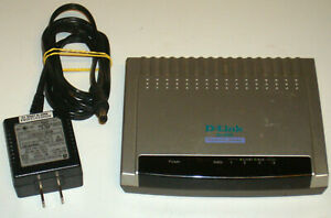 D-Link DI-604 100Mbps 4-Port 10/100 RJ-45 Residential Gateway with AC Adapter