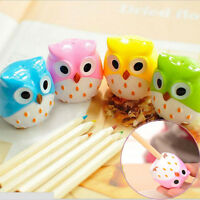 New 3PCs Owl Pencil sharpener cutter blades two holes Office School Supplies jjj