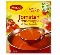 12 x MAGGI TOMATEN CREME SUPPE SOUP - TOMATO SOUP - ORIGINAL FROM GERMANY