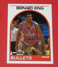 # 240 BERNARD KING WASHINGTON BULLETS 1989 NBA HOOPS BASKETBALL CARD