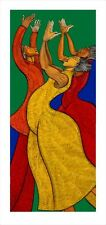 Rejoice Limited Edition 400 Ethnic Expressive Art  by Charles Bibbs