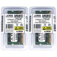 512MB KIT 2 x 256MB Dell Latitude C500 C600 C800 CPT-C CPtT H500ST Ram Memory