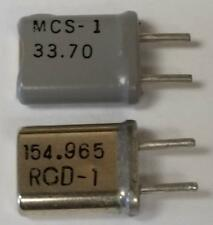 Regency/RS Police Scanner Crystals 10.7 iF - UHF VHF Any Frequency 40yr Supplier