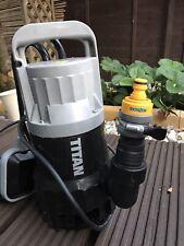titan dirty water pump