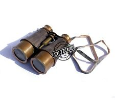 Vintage Marine Shoulder Strap Binocular Monocular Antique Creation Telescop