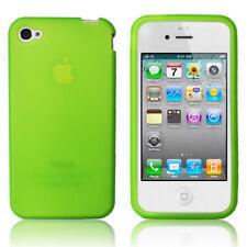 Apple iPhone 4 / 4S YouCase Schutz Hülle Etui  Back Cover Glow grün