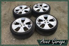 2004 Holden TS Astra SXi Coupe 4 Stud Silver 18 Inch Alloy Wheels / Rims - KLR